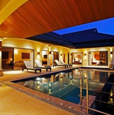 Villa 2 - Pool At Sunset