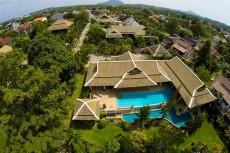 Villa 2 - Overhead View
