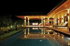 Villa 2 - Pool At Night