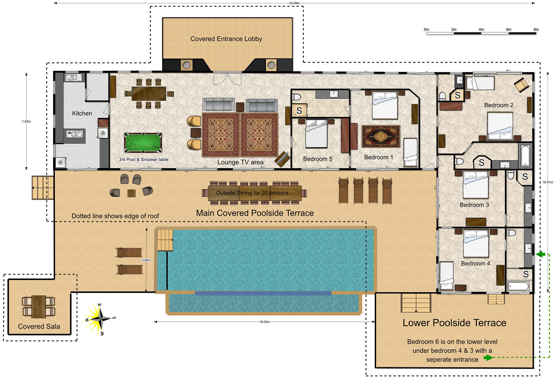 Floor plans mountain view villas phuket for Villa designs and floor plans